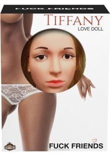 Fuck Friends Tiffany Inflatable Love Doll With Vibrating Vagina Waterproof Flesh