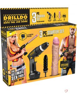 Drilldo The Ultimate Sex Tool Starter Set 3 Piece Kit