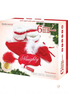 Bodywand Couples Collection Holiday Bed Spreader 6 Piece Gift Set