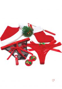 Bodywand Couples Collection Under The Mistletoe 8 Piece Gift Set
