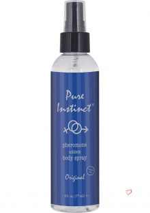 Pure Instinct Pheromone Unisex Body Spray Original Scent 6 Ounce