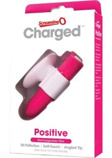 Charged Positive Rechargeable Vibe Waterproof Pink