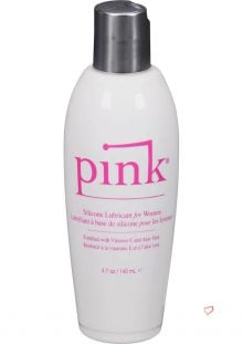 Pink Silicone Lubricant For Women 4.7 Ounce