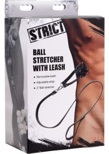 Strict Ball Stretcher With Leash Black