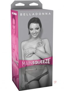 Main Squeeze Belladonna UltraSkyn Stroker Black/Flesh