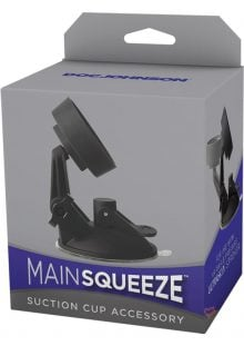 Main Squeeze Suction Cup Accessory Black