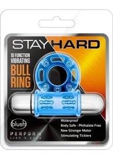 Stay Hard 10x Vibe Bullring Blue