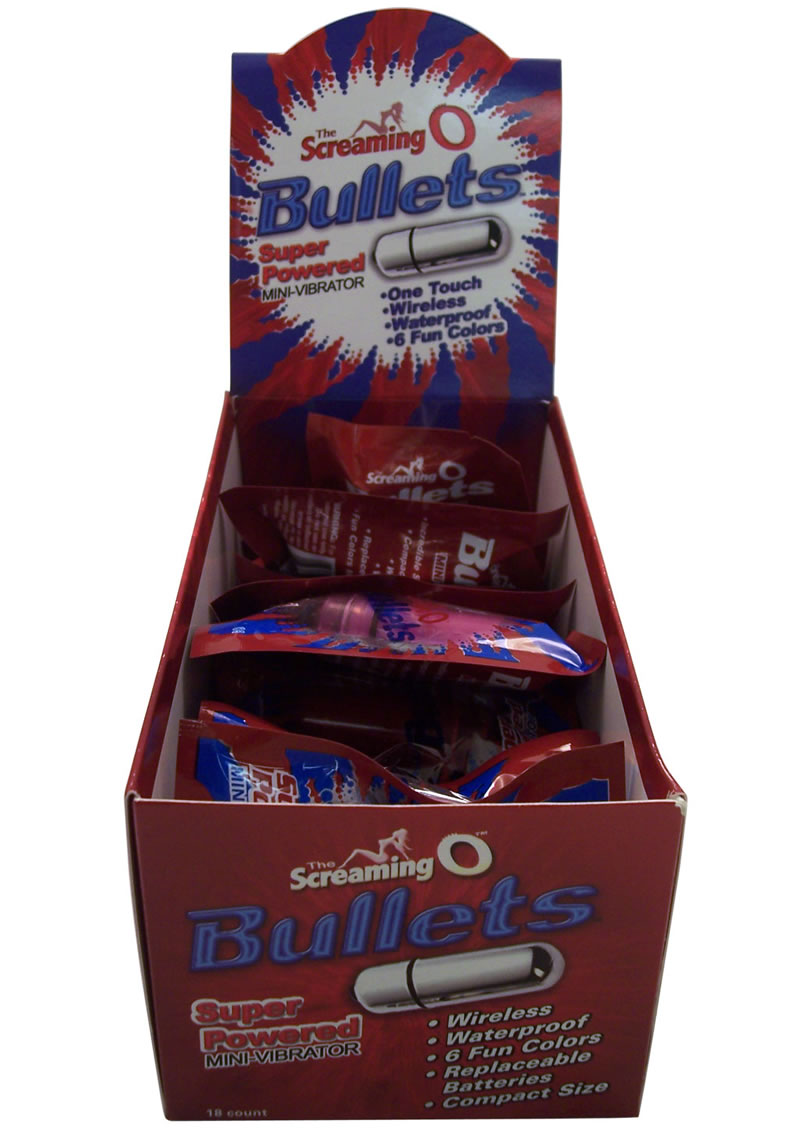 Screaming O Bullets Loose Assorted Colors