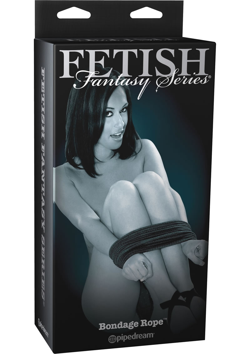 Fetish Fantasy Series Limited Edition Bondage Rope Black