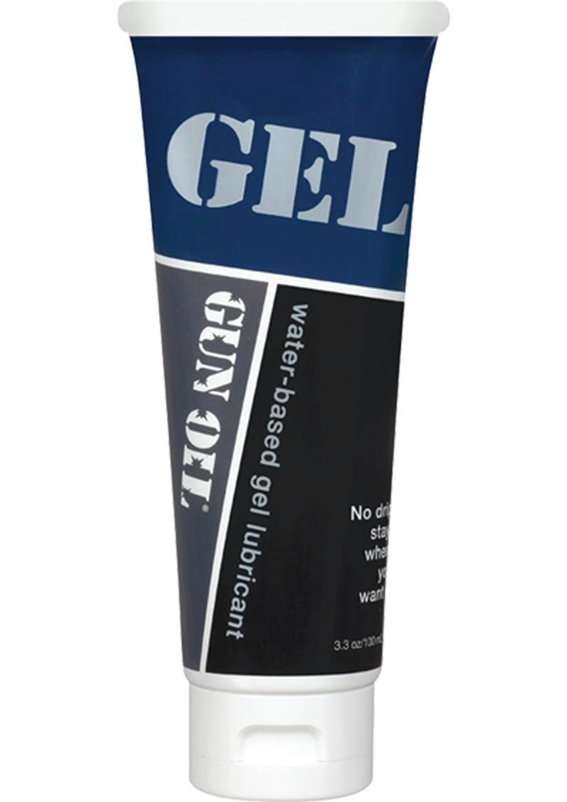 Gun Oil Water Based Gel Lubricant 3.3 Ounce