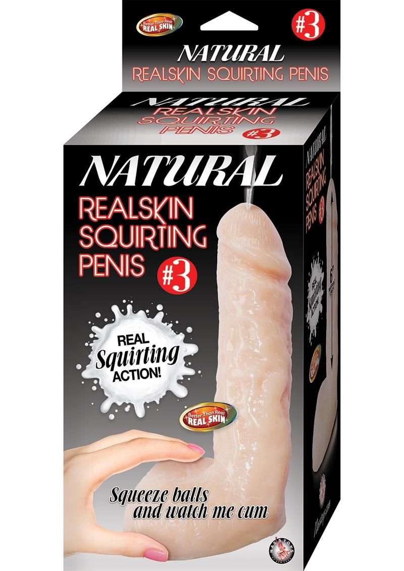 Natural Realskin Squirting Penis 03