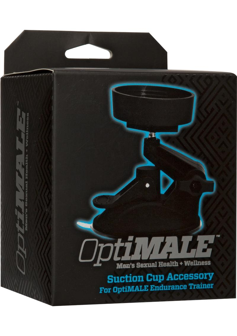 OptiMale Suction Cup Accessory Black