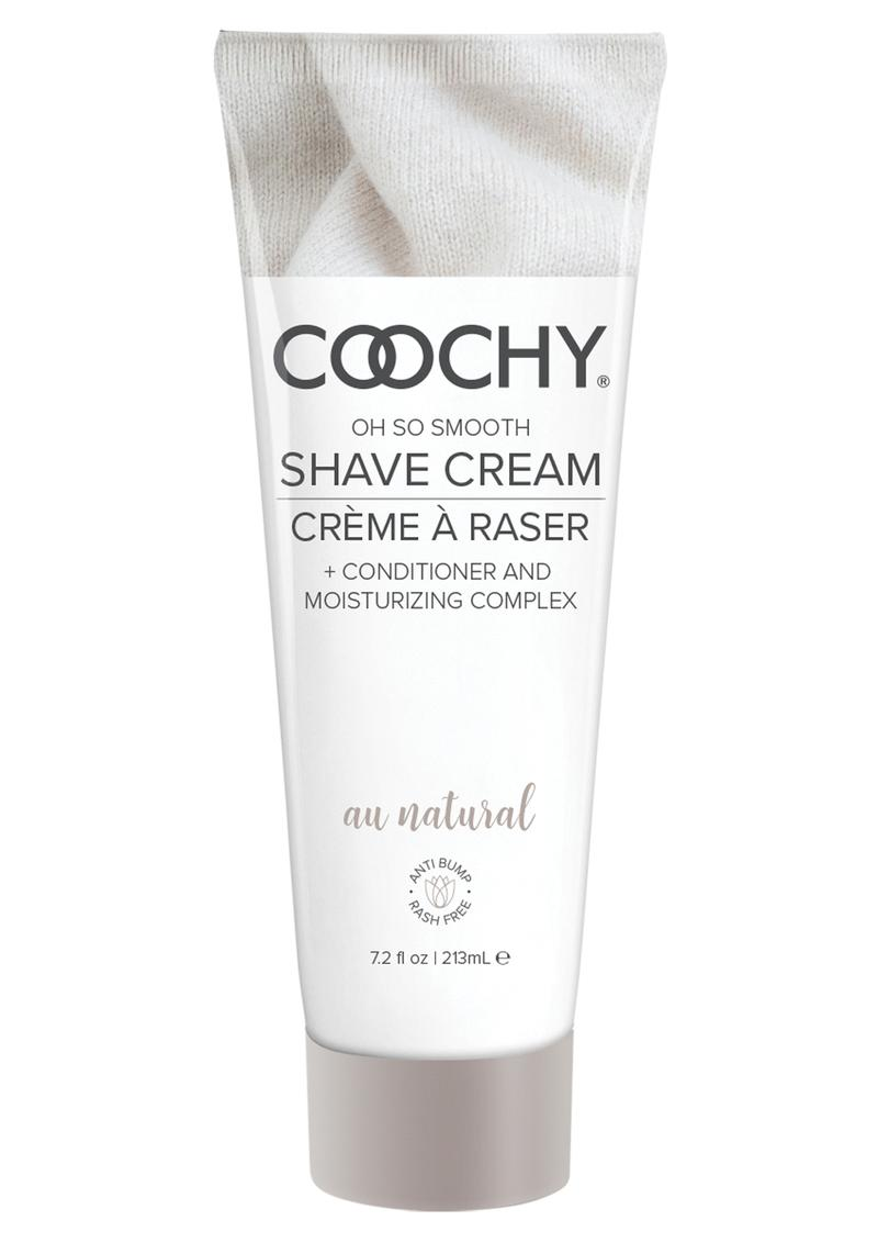 Coochy Oh So Smooth Shave Cream Au Natural 7.2 Ounce
