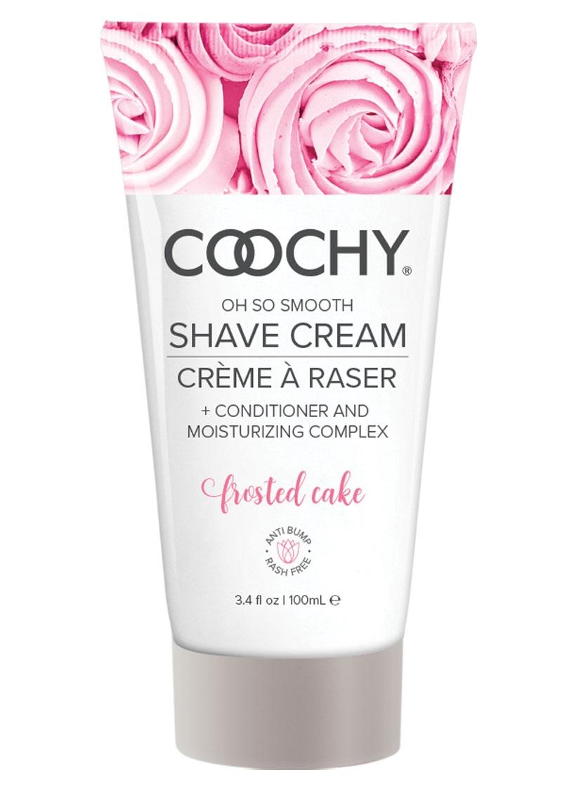 Coochy Oh So Smooth Shave Cream Frosted Cake 3.4 Ounce