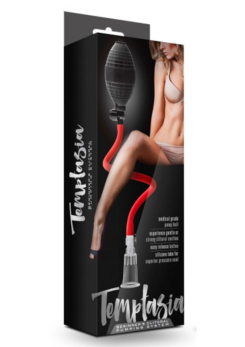 Temptasia Beginners Clitoral Pump System Black And Red