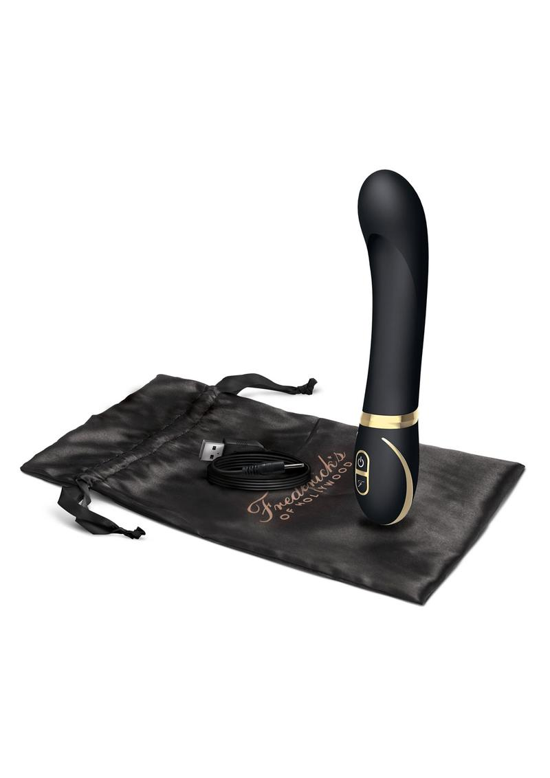 Fredericks Of Hollywood Rechargeable Silicone G Spot Vibrator Splashproof Black