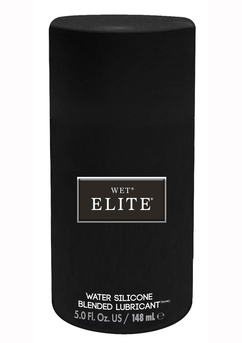 Wet Elite Black Water Silicone Blended Lubricant 5 Ounce