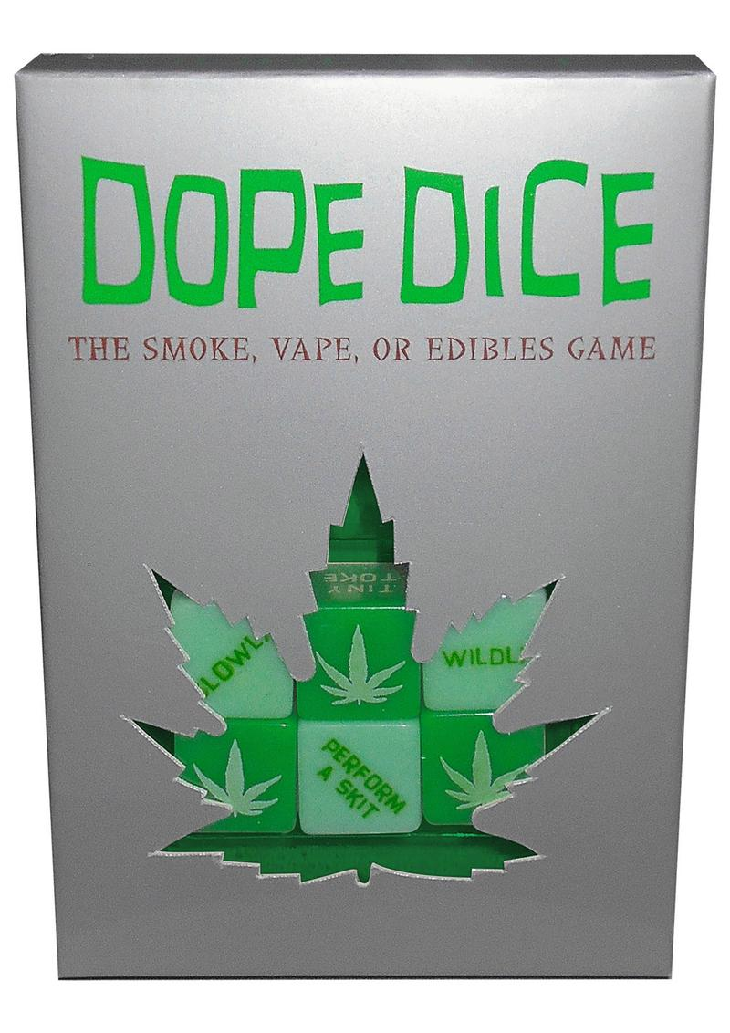 Dope Dice The Smoke Vape or Edibles Games