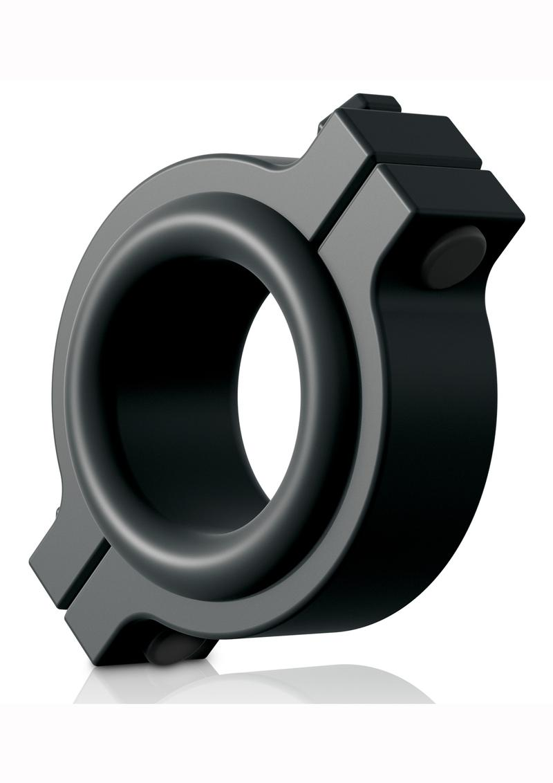 Sir Richards Control Pipe Clamp C-Ring Silicone Black
