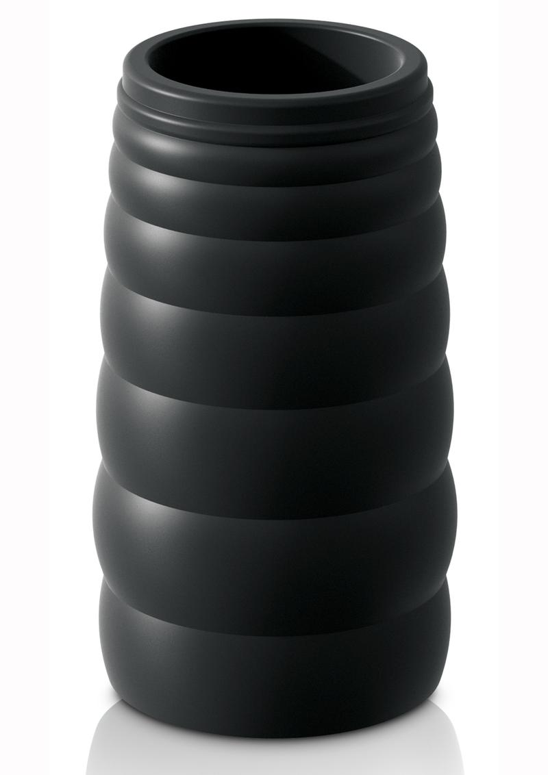 Sir Richards Control Tapered Erection Enhancer Silicone Black 3 Inches
