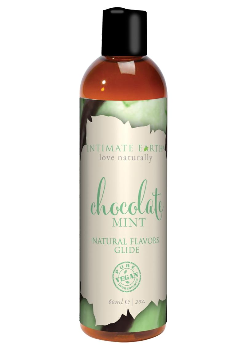 Chocolate Mint Oral Pleasure Glide Chocolate Mint 2 Ounces