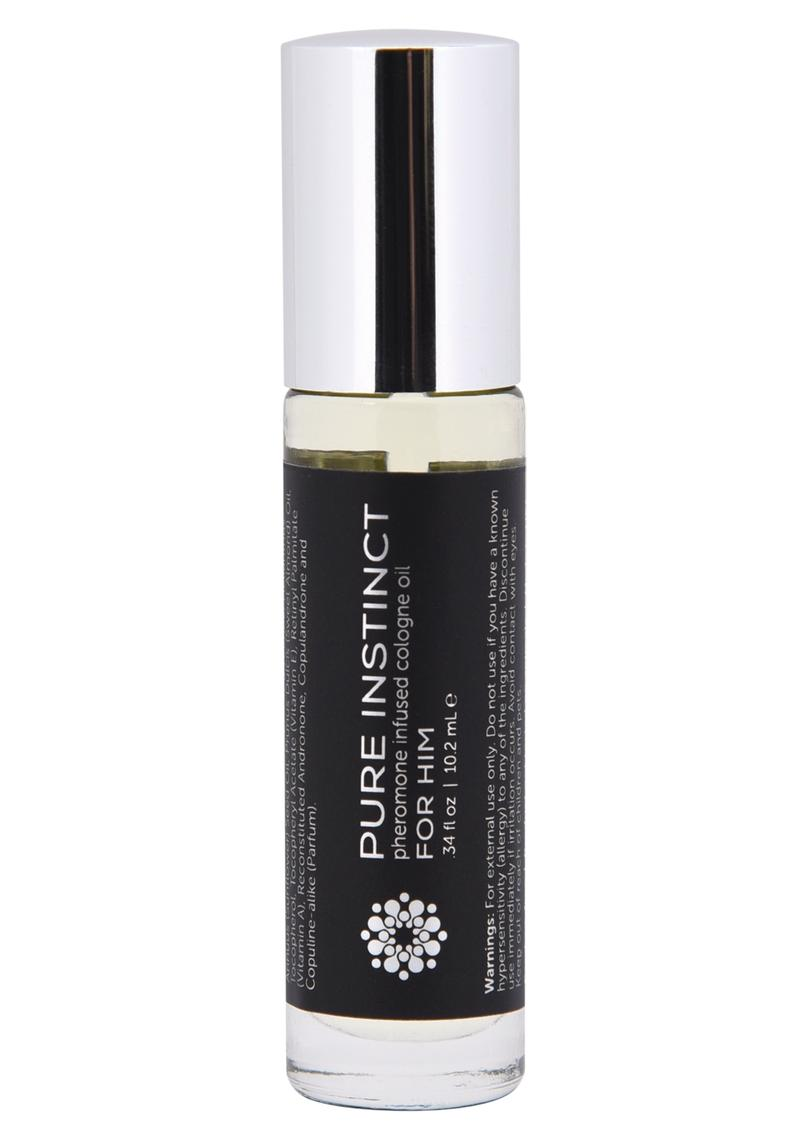 Pure Instinct Pheromone Infused Oil For Him Roll-On 0.34 Ounces