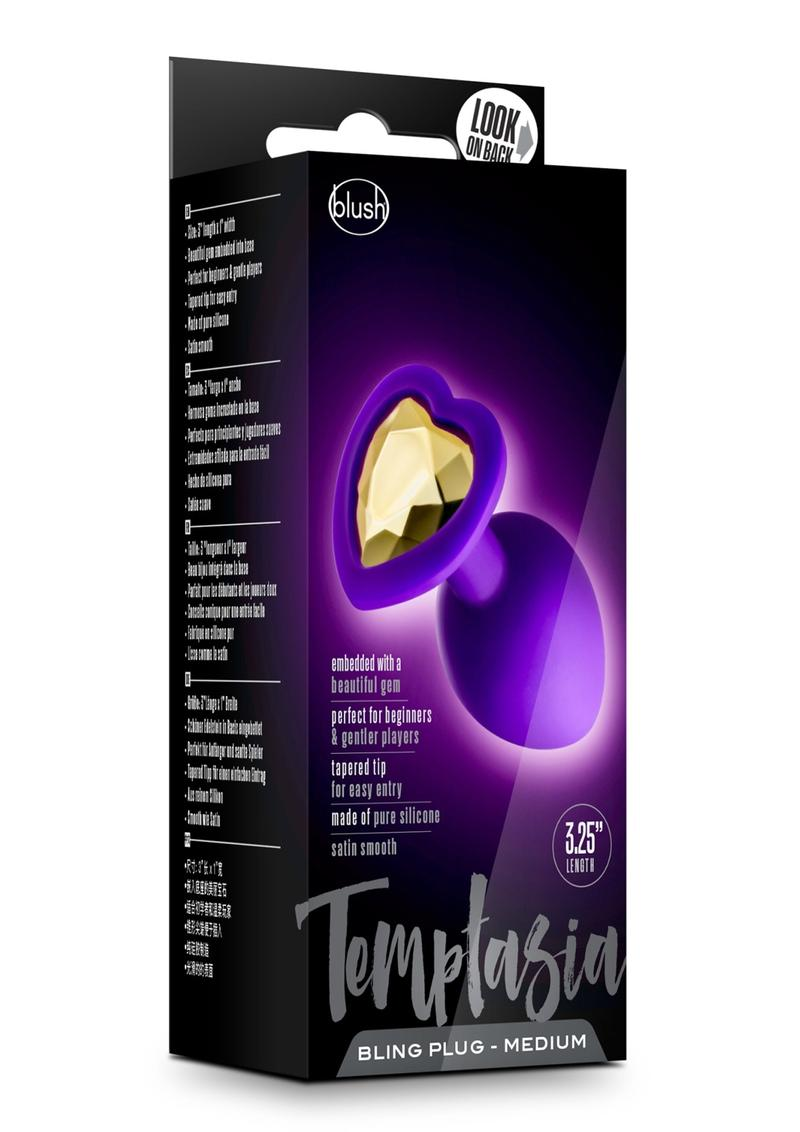 Temptasia Bling Plug Md Purple