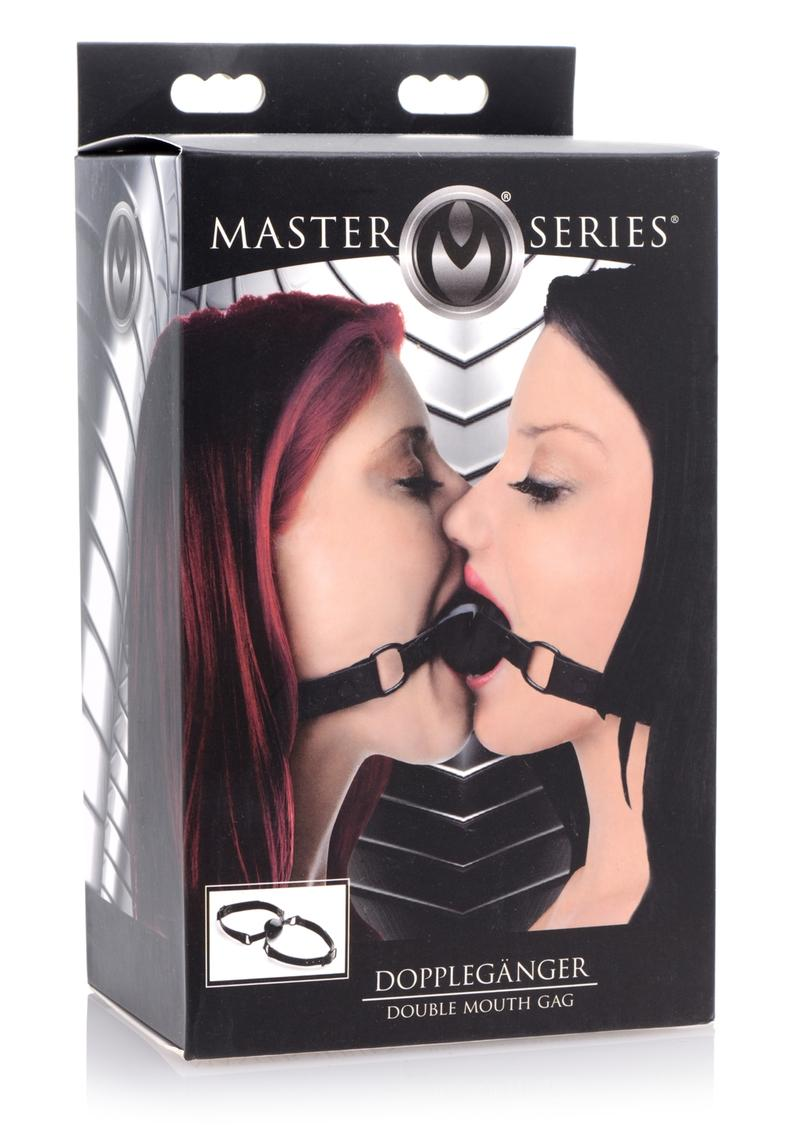 Ms Doppelganger Double Mouth Gag