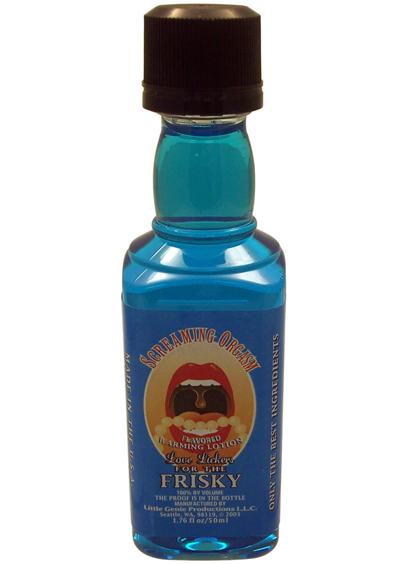 Love Lickers Warming Lotion Screamin Orgasm 1.76 Ounce