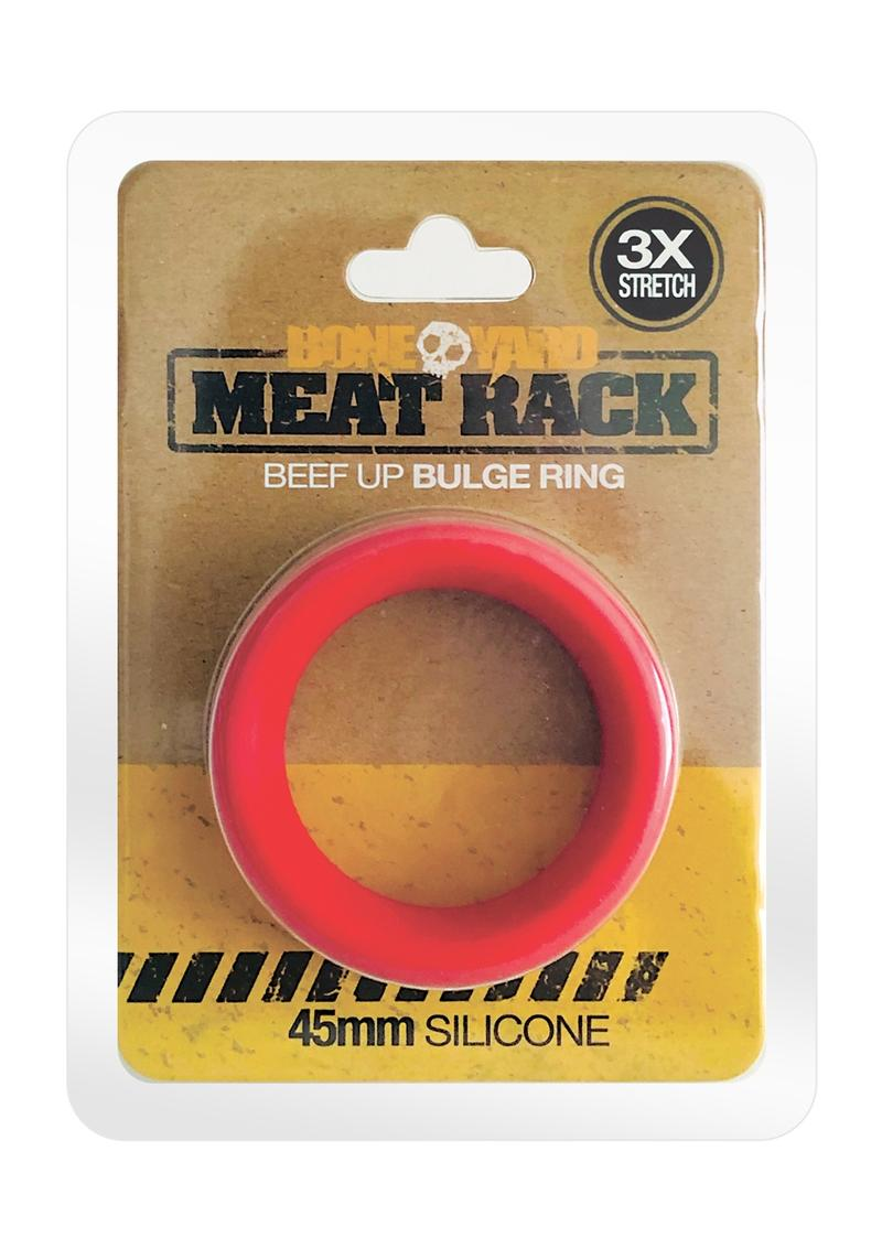 Boneyard Meat Rack Cock Ring Red