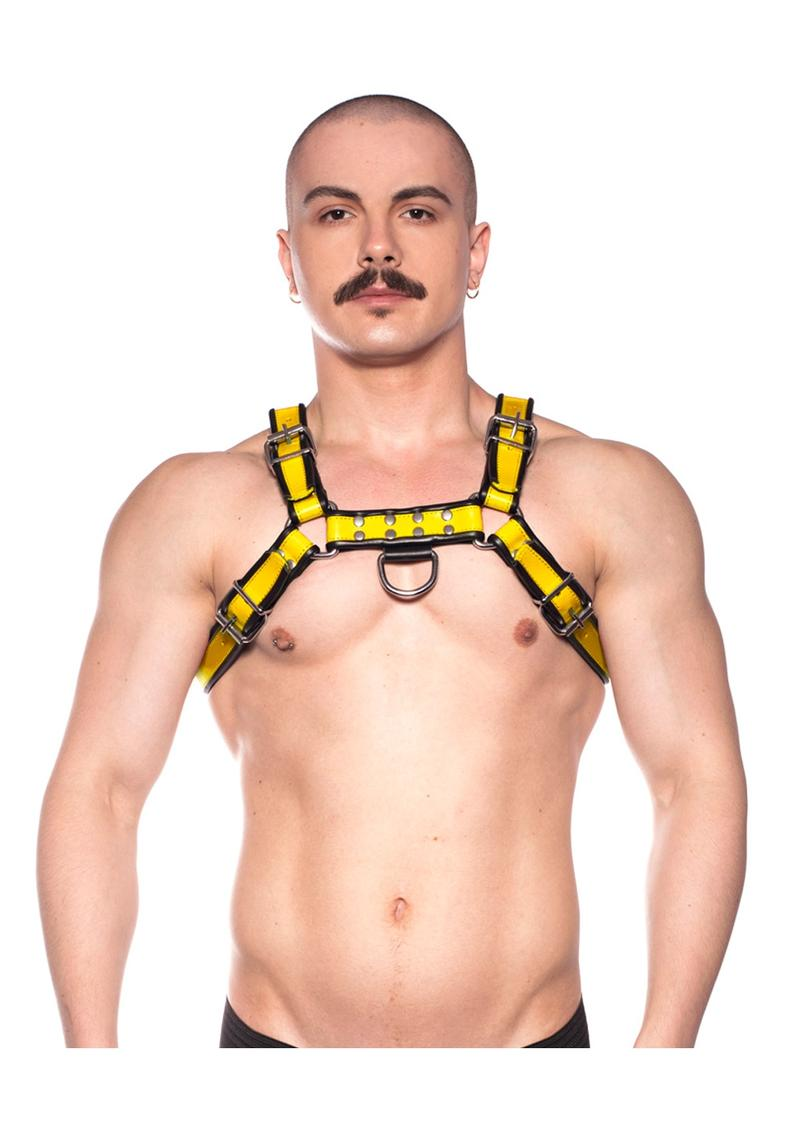 Prowler Red Bull Harness Blk/yell Lg