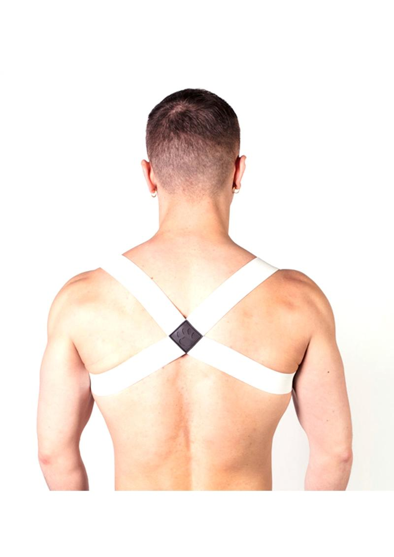 Prowler Red Sports Harness White Os