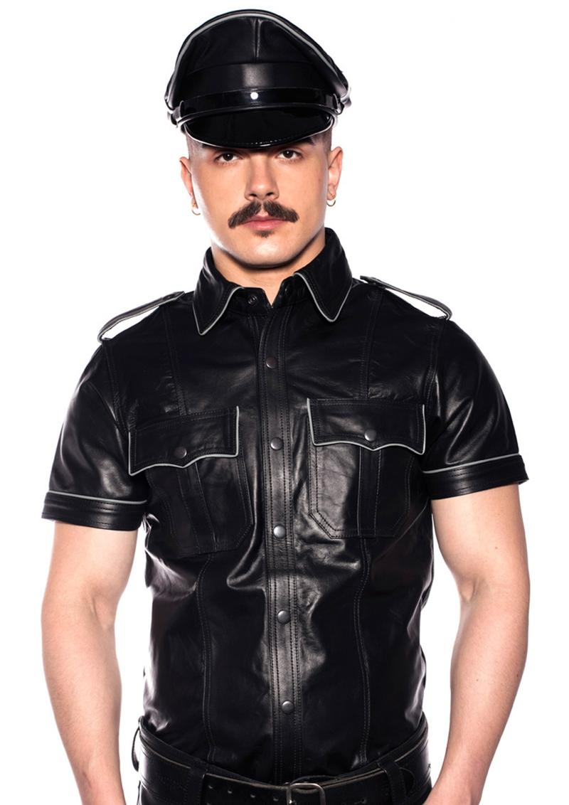 Prowler Red Police Shirt Pipe Blk/gry Xl