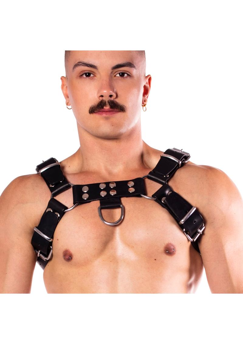 Prowler Red Butch Harness Blk/silv Xxl