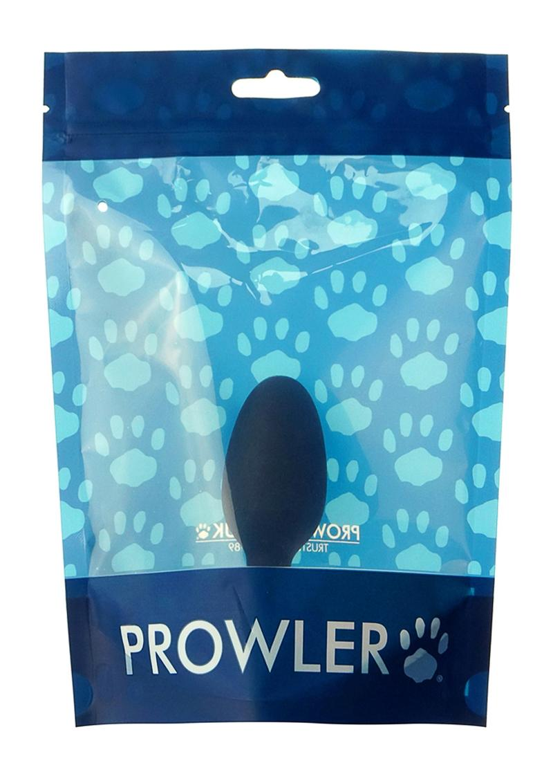 Prowler Medium Weighted Butt Plug Non Vibrating Black
