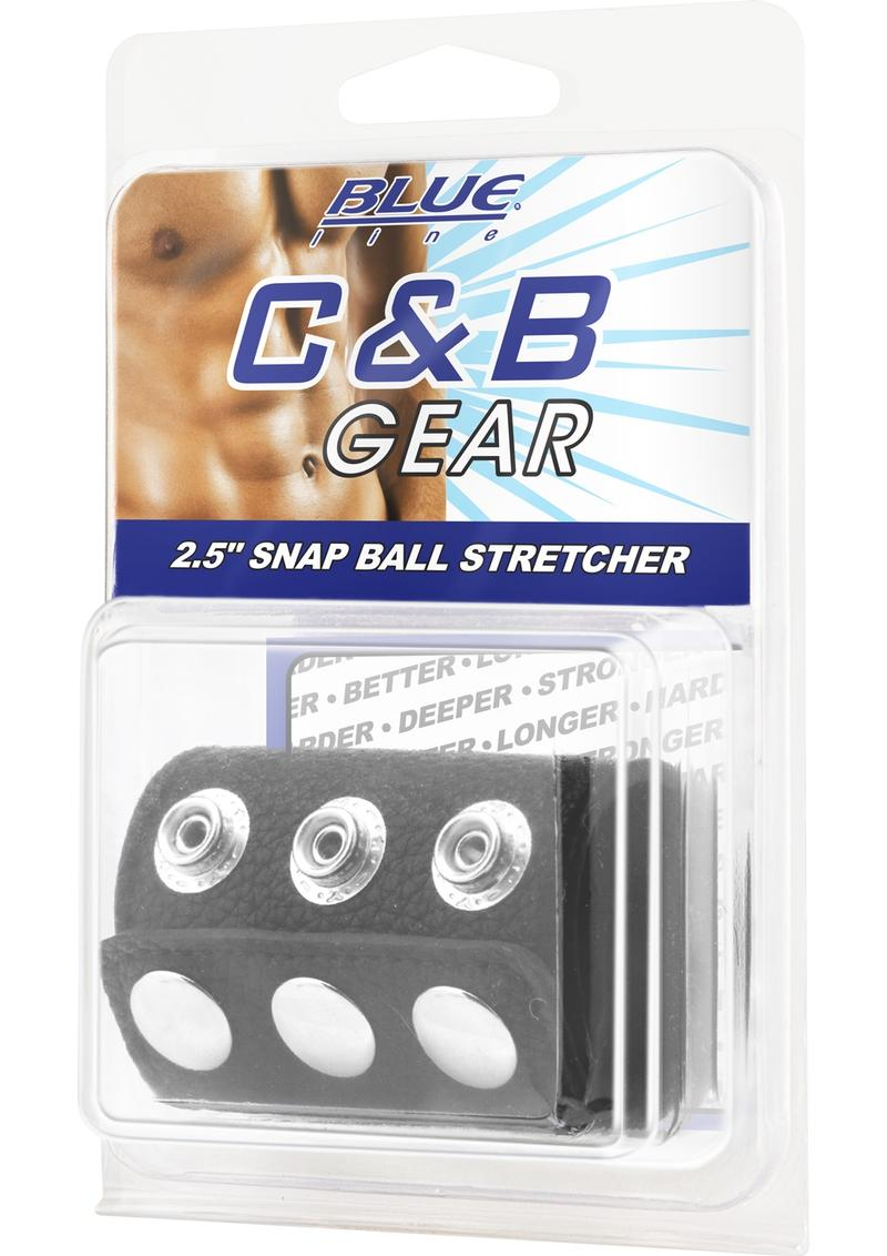 CandB Gear Snap Ball Stretcher Adjustable Black 2.5 Inch