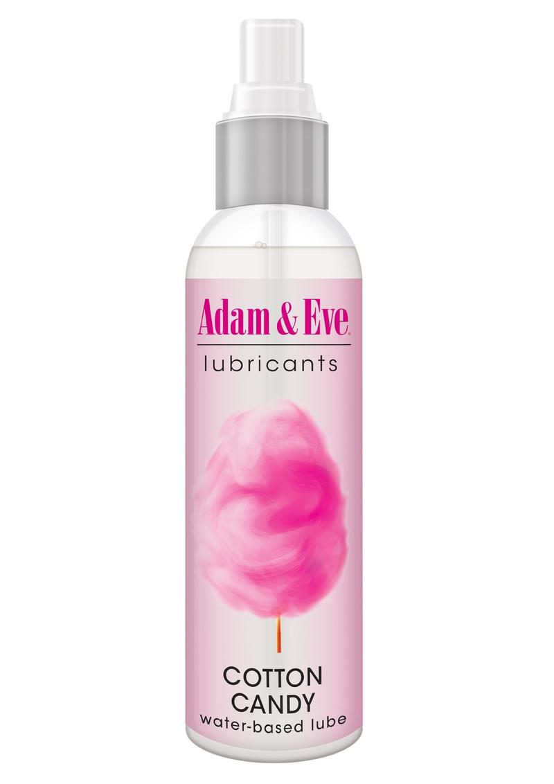 Adam and Eve Lubricants Water Based Lube Cotton Candy 4oz