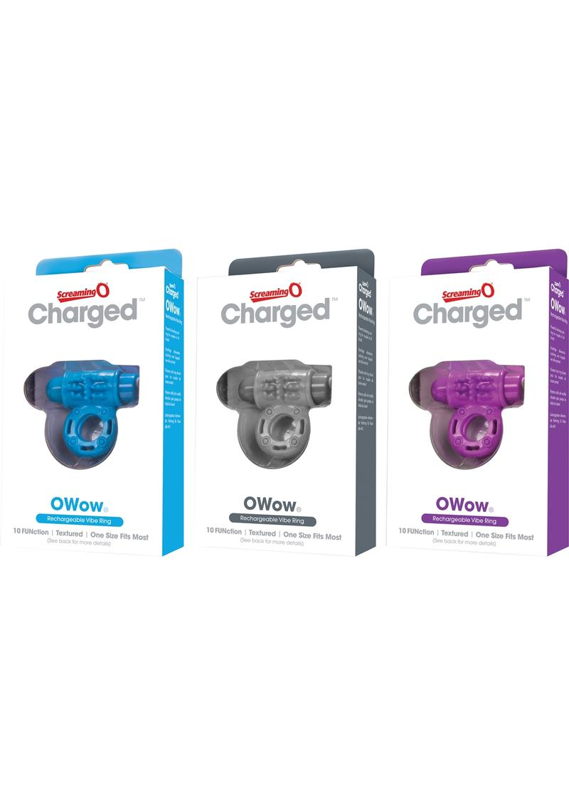 Charged Owow Vooom Mini Vibe Asst 6/bx