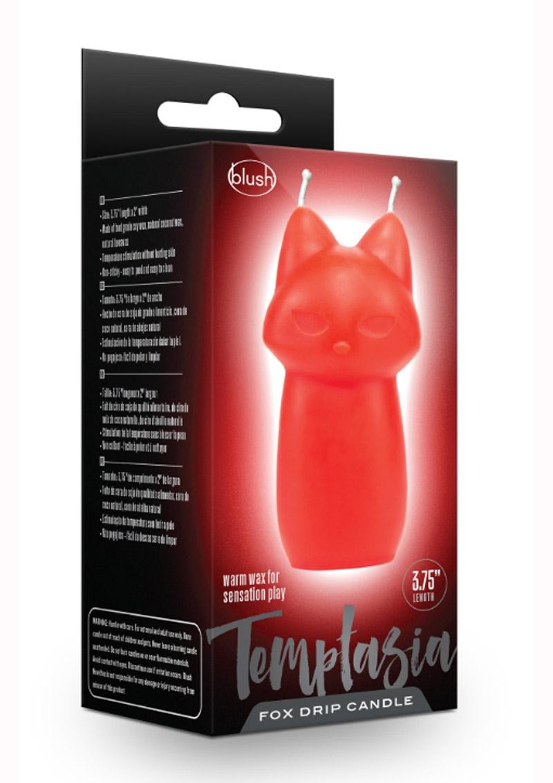 Temptasia Fox Drip Candle - Red