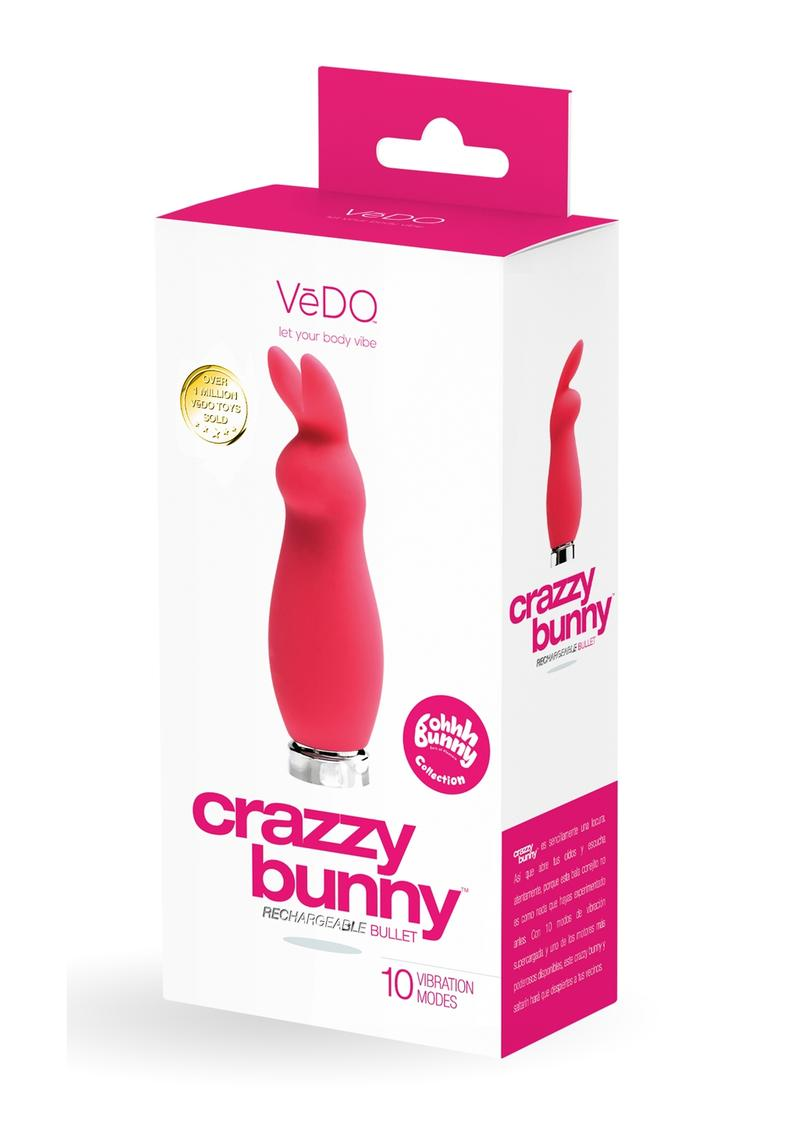 Crazzy Bunny Recharge Mini Vibe Pink