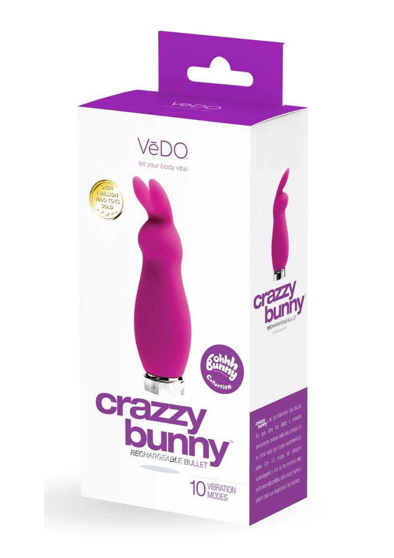 Crazzy Bunny Recharge Mini Vibe Purple