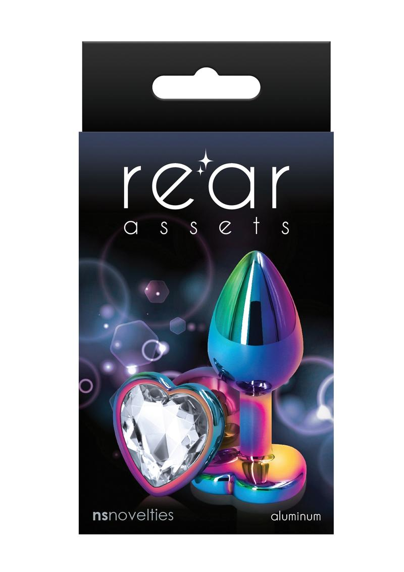 Rear Assets Multicolor Heart Small Clear