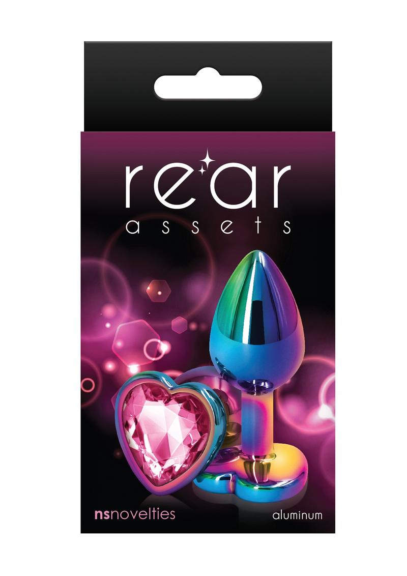 Rear Assets Multicolor Heart Small Pink