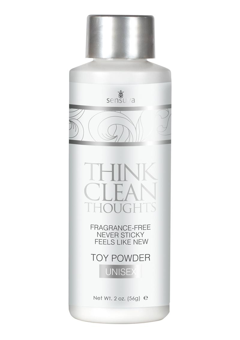 Think Clean Thoughts Toy Powder 2oz