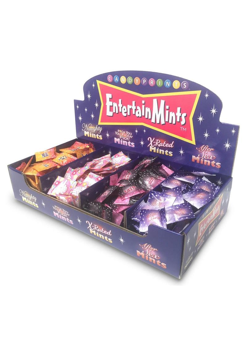 Entertainmints Display (400 Packs Per Display) *Special Order*