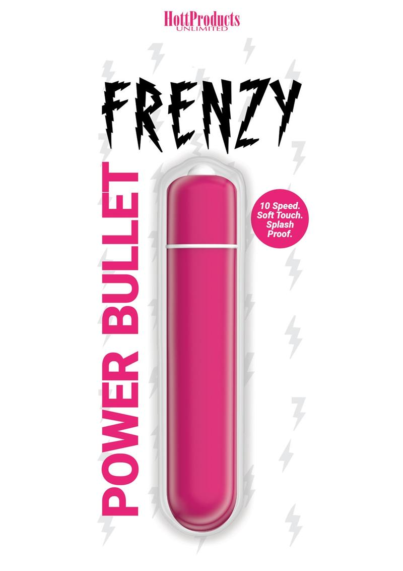 Frenzy Silicone Bullet - Pink