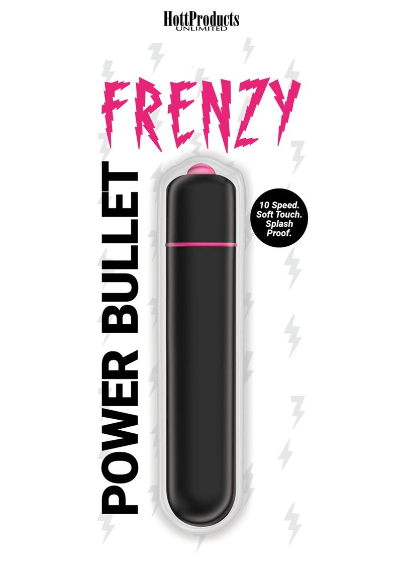 Frenzy Silicone Bullet - Black