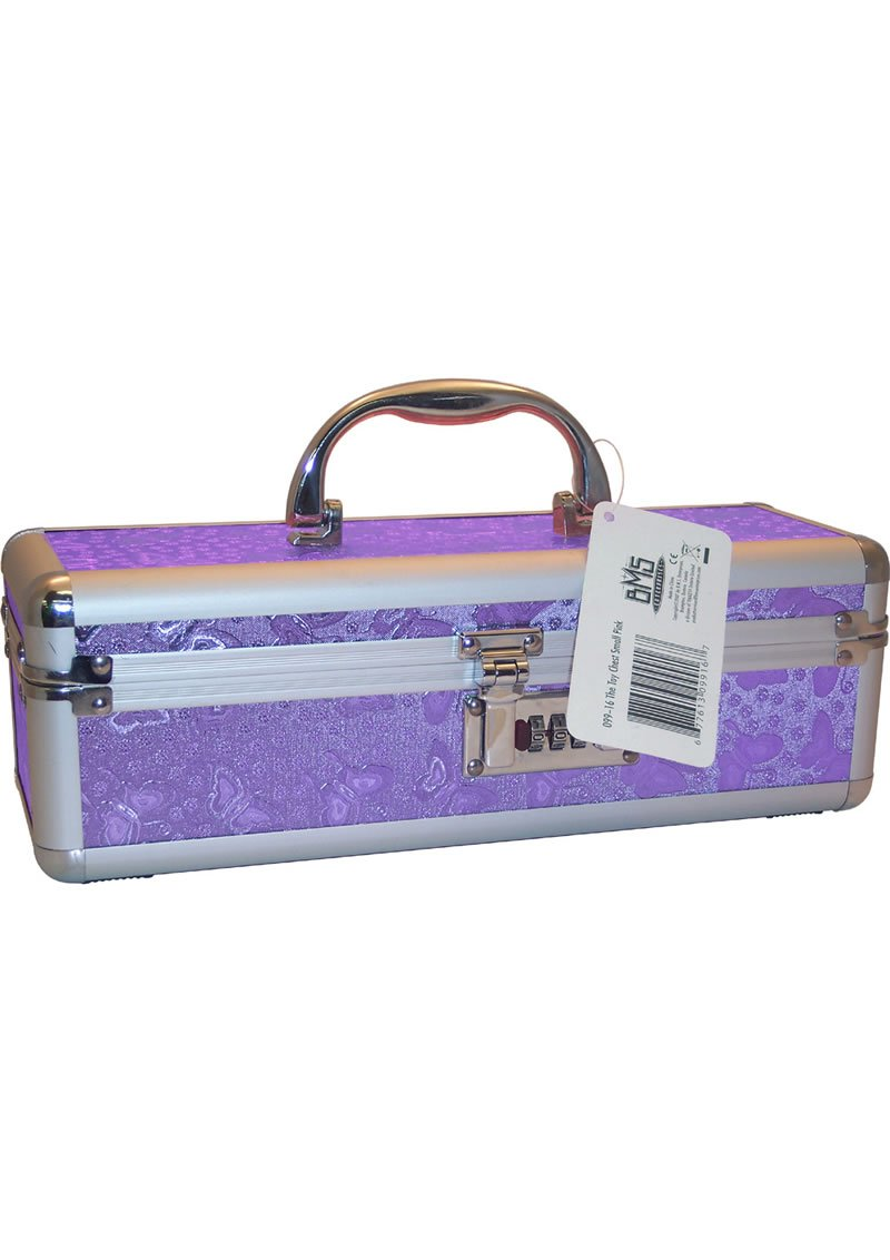 Lockable Vibrator Case Medium Purple