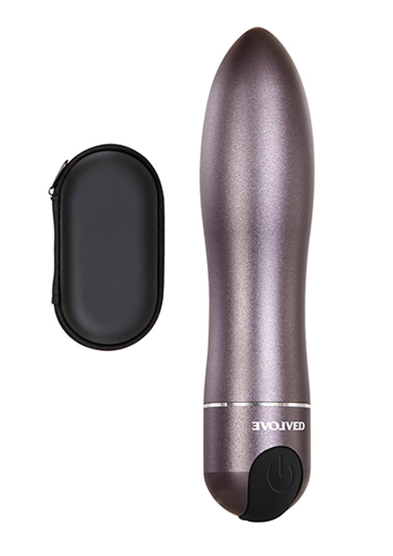 Travel Gasm Rechargeable Bullet - Gun Metal