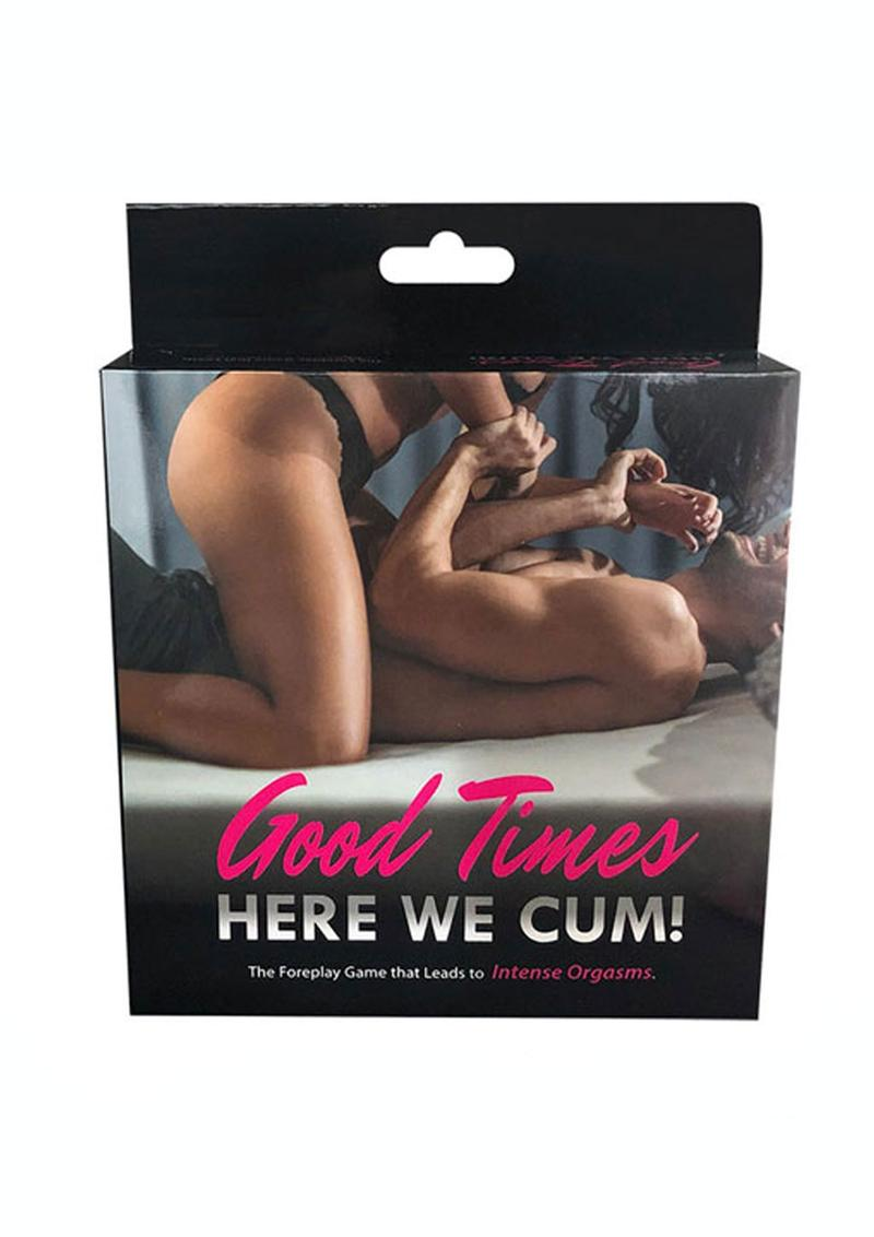 Good Times Here We Cum Couples Game